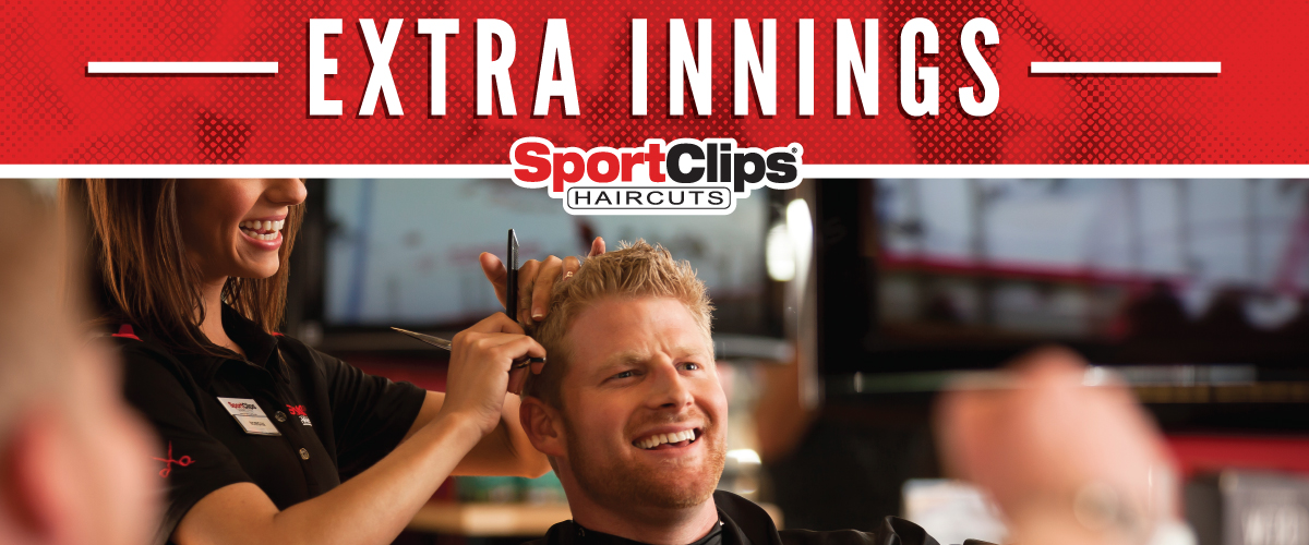 The Sport Clips Haircuts of Lake Calhoun  Extra Innings Offerings